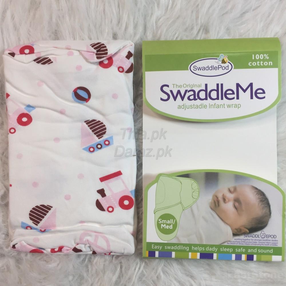 Swaddle Me Ultra Comfort Adjustable Baby Wrap - Best for summer seasons