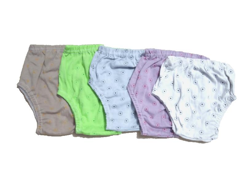 Pack of 12 - Kids Panties - Multi Prints