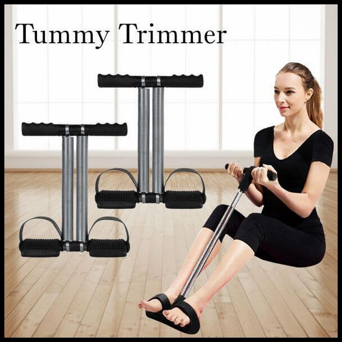 TUMMY TRIMMER DOUBLE SPRING HOME GYM FOR WOMEN / MEN