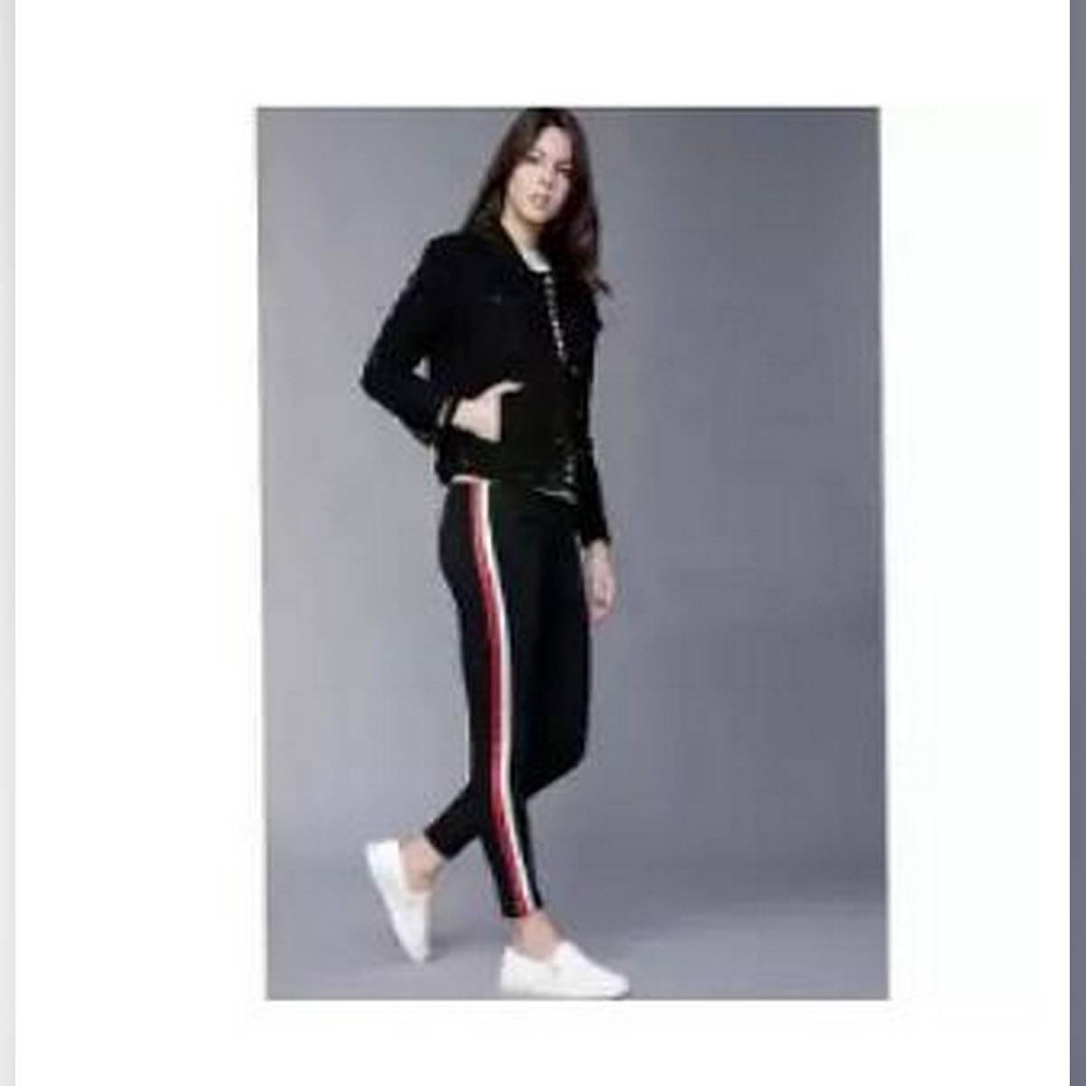 Girl Stripe Style Denim Jeans