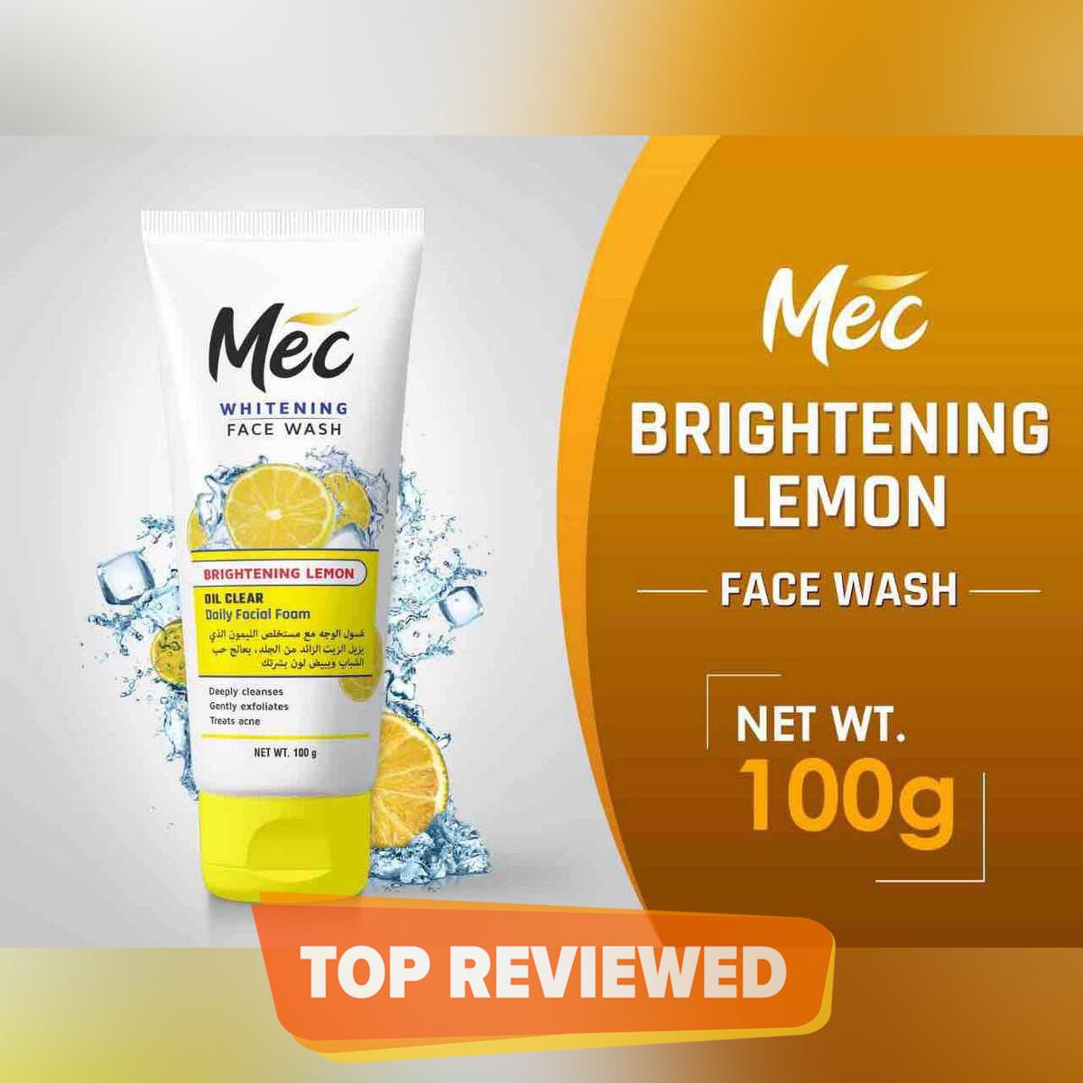 Mec Whitening Oil Clean Face Wash
