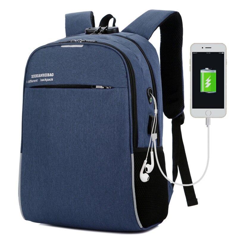 Business Travel Boys Trend Girl School Bag with lock option USB Charging Business Backup , Men Backup,Women Backup, Boys School Backpack , College Bag,Boys University Bag, Laptop  School College University Bag