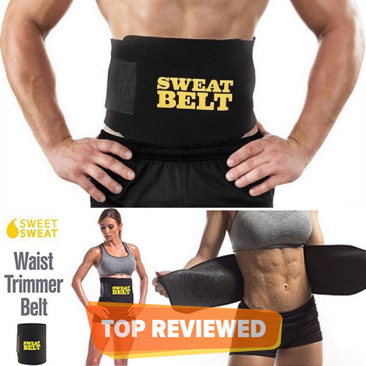 Women Men Body Shaper Sweat Belt Premium Waist Trimmer