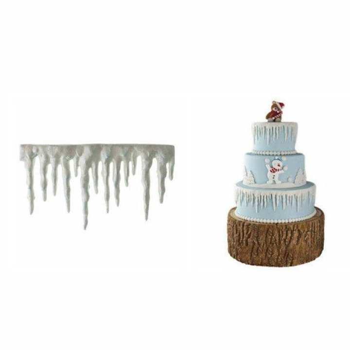 Silicone Frozen Ice Cake Fondant Mould