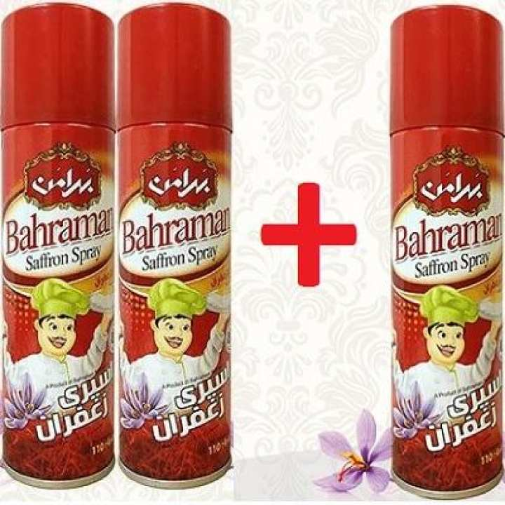 Buy 2 Get 1 Free - Saffron (Zafran) Topping Spray - Specially For Cooked Rice & Ice Cream