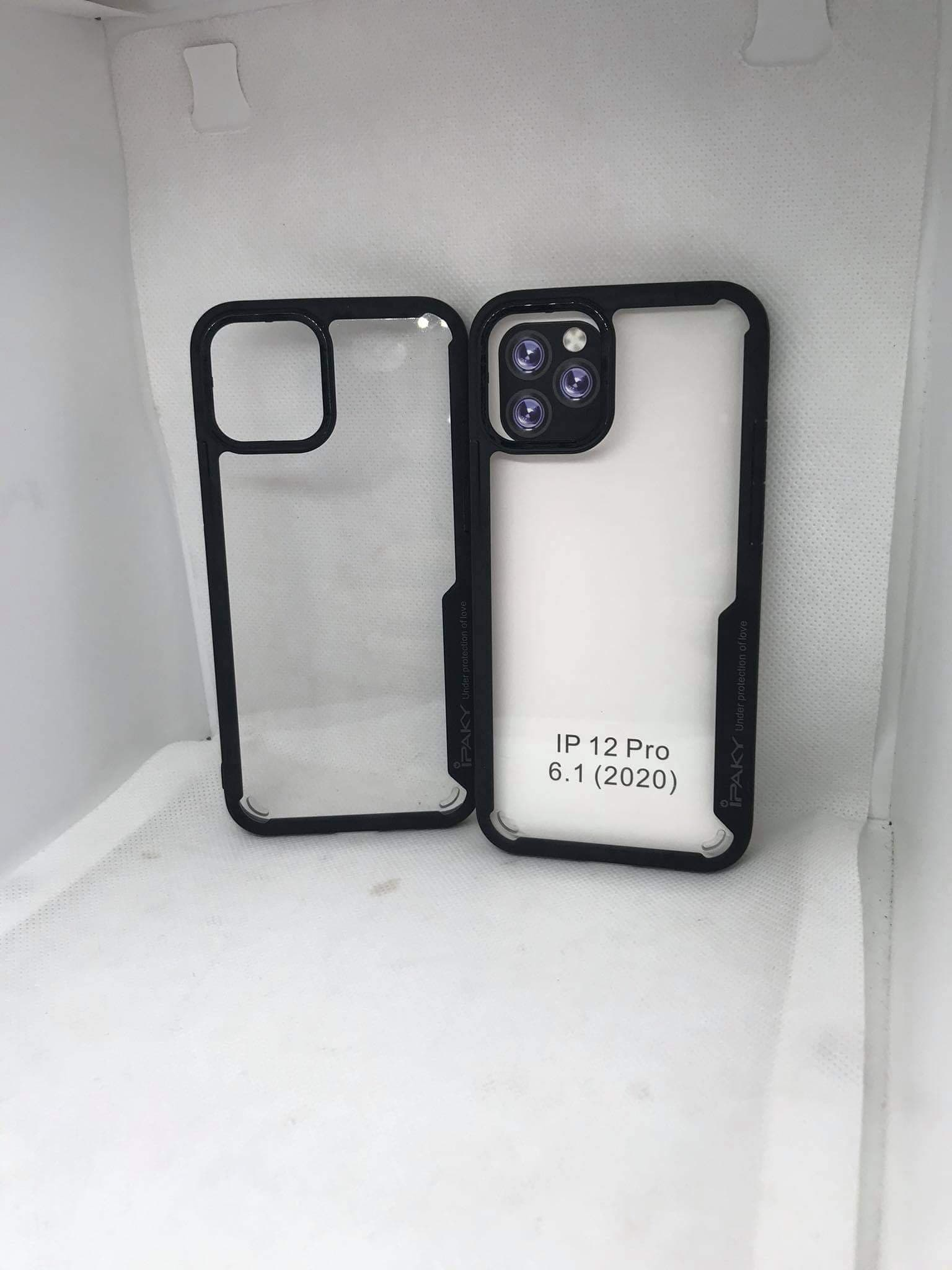 Iphone 12 Pro (6.1) IPAKY TPU Bumper Mobile Case BACK COVER for Iphone 12 Pro