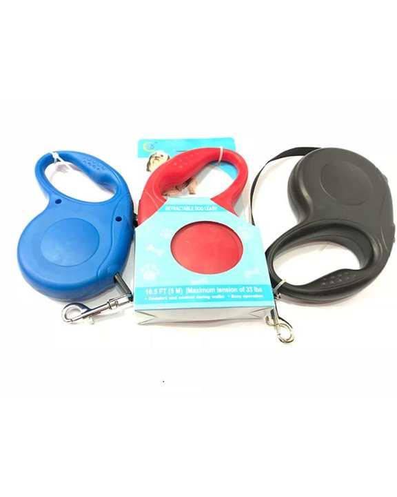 Retractable leash (Red,Blue,Black)