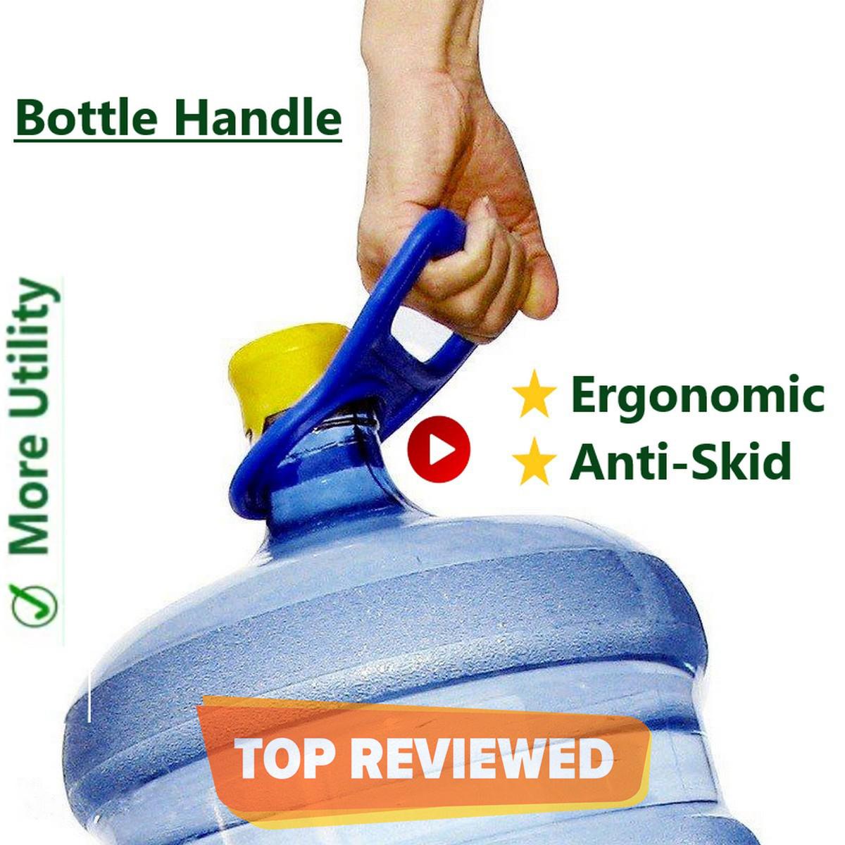 19 Liter Water Bottle Handle Bottel Picker for 19 L Litres Ltr water bottles - Easy Lifting Flat ~20 Litter bottle Holder handle - Shop with Zada Sellers - Multicolor