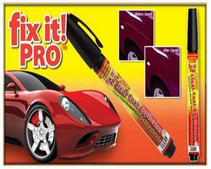 1 x Car Scratch Repair Remover Filler & Sealer Painting Pen Clear Coat Aplicator for All Car Fix it Pro