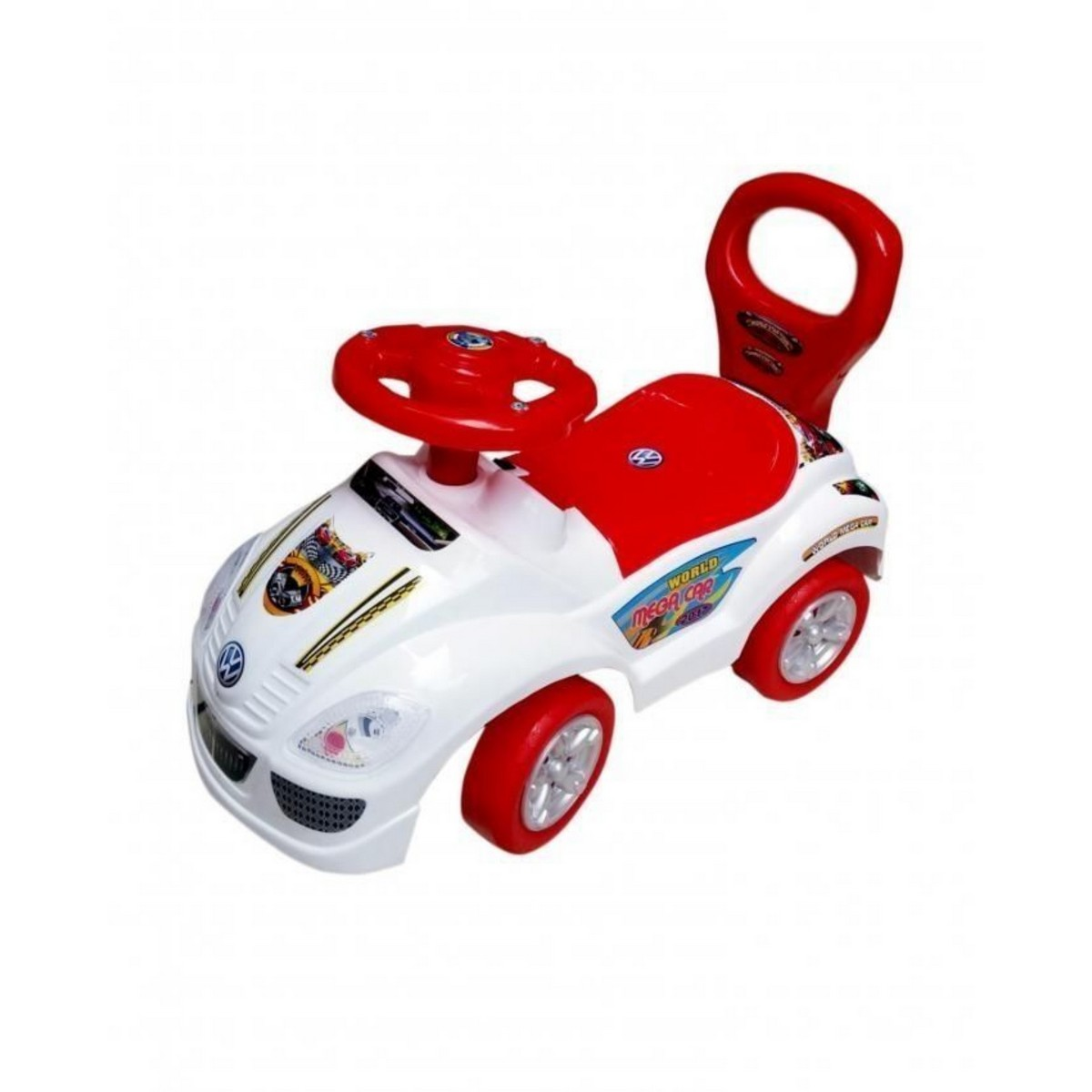 Mini Cab Push car with Music & Lights in Different Colors & Storage Box
