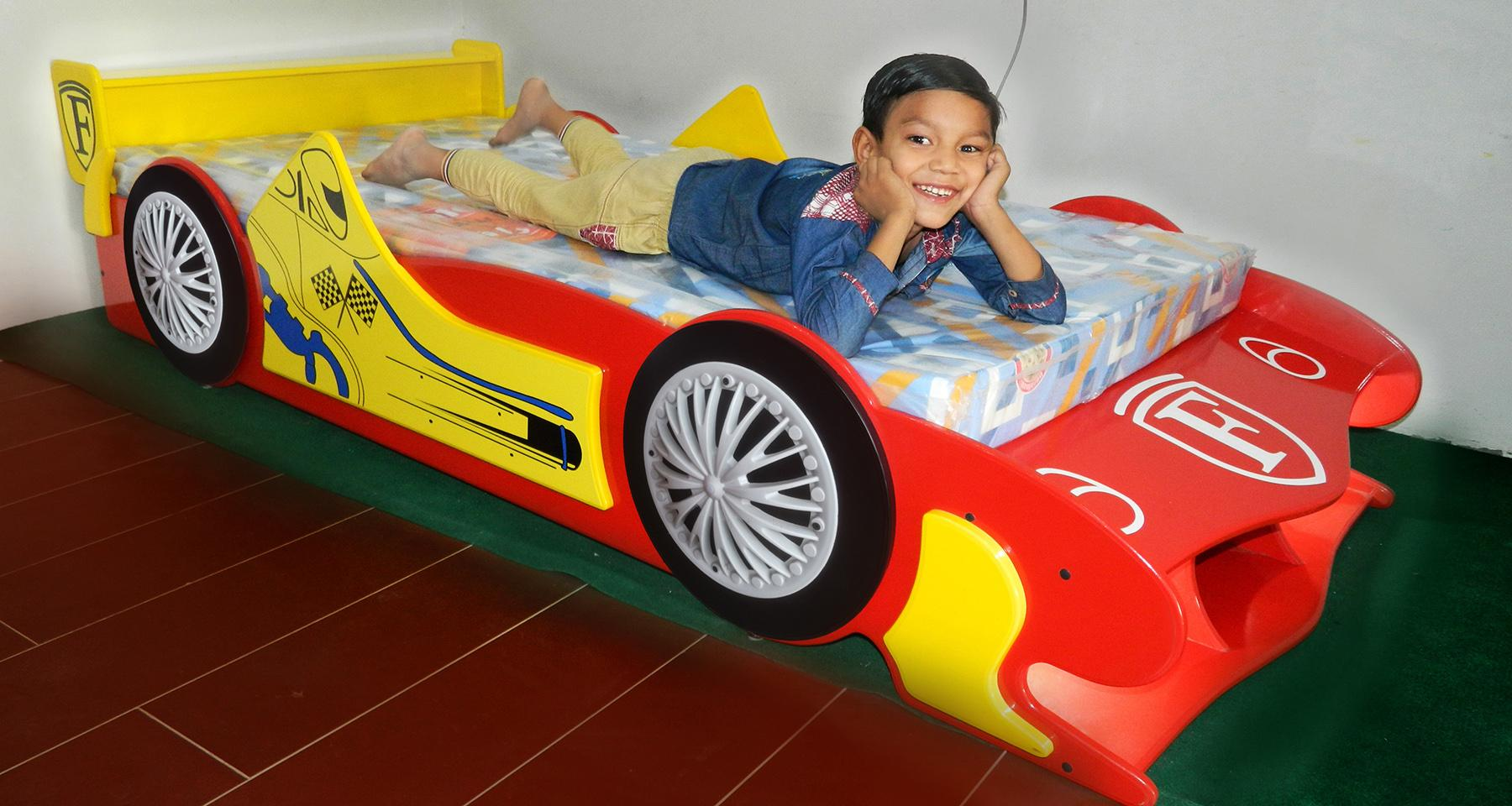 Picture of: Kids Car Bed For Boys Single Baby Beds In Super Car Looks Buy Online At Best Prices In Pakistan Daraz Pk