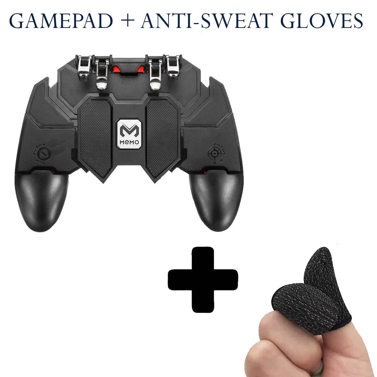 AK66 Pubg Gamepad / Pubg / Gamepad For Pubg / Gamepad For Pc / Pc Gamepad / Pubg Controller / Pubg Trigger / Pubg Controller For Mobile with thumb gloves / sleeves