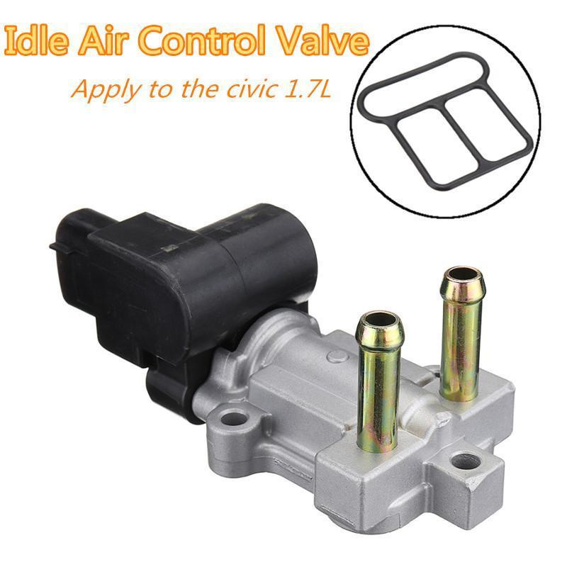 New 16022PLCJ01 Idle Air Control Valve for 2001-2005 Civic 1 7L with Gasket