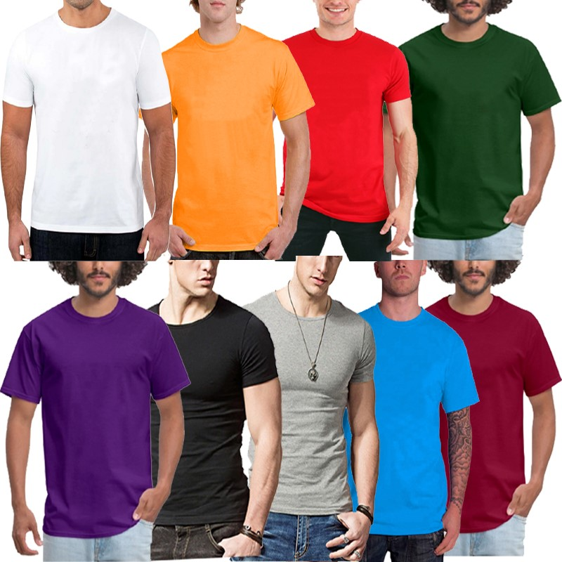 Summer 3 pcs Random T-shirts For Men (Clearance Sale)