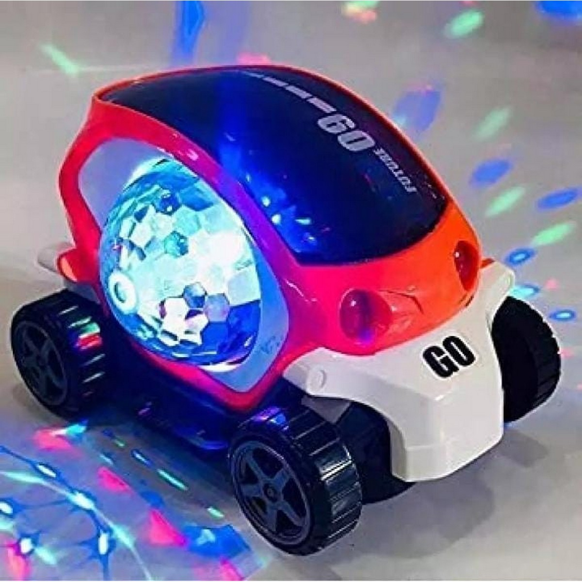 360 Roution 09 future car Beautiful musical car with blinking light toy for kids(boys and girls)(cell not include)