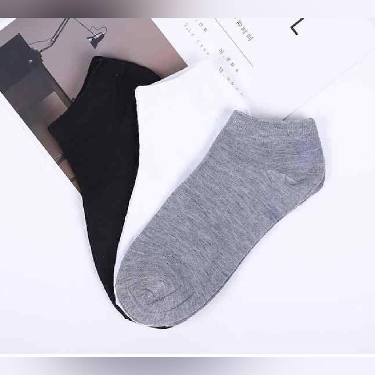 Pack of 3 pair - Unisex Low Cut Ankle Socks