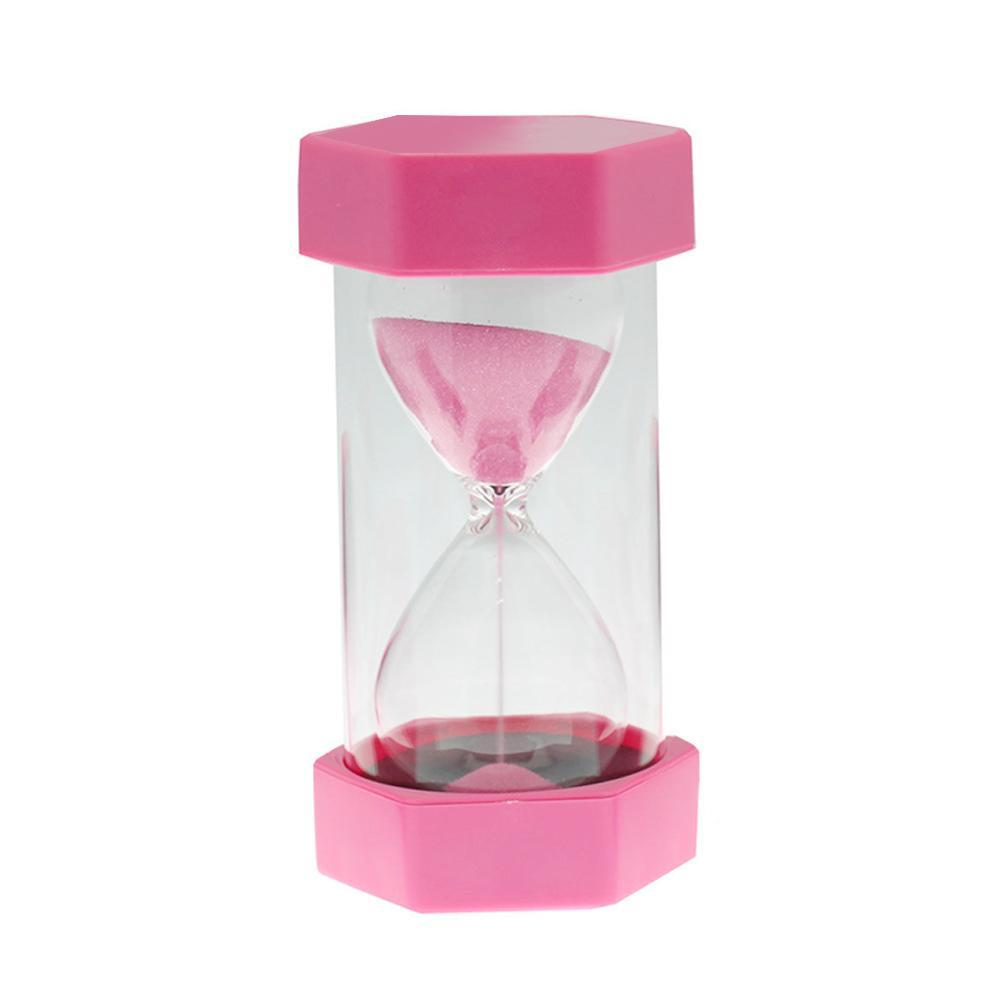 Meeting Love Hexagonal Sandglass 10 Minutes Sand Clock Hourglass Kitchen  Egg Timer Tool