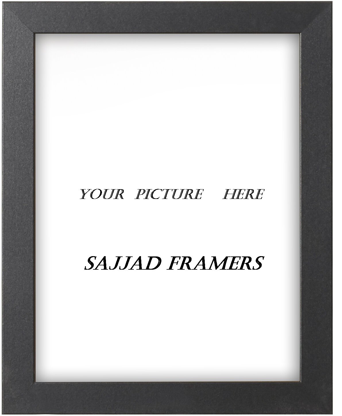 SAJJAD FRAMERS  picture frame a4 size foto plain frame you can add your own picture or  can tell us to add ur picture for FREE WALL DECOR