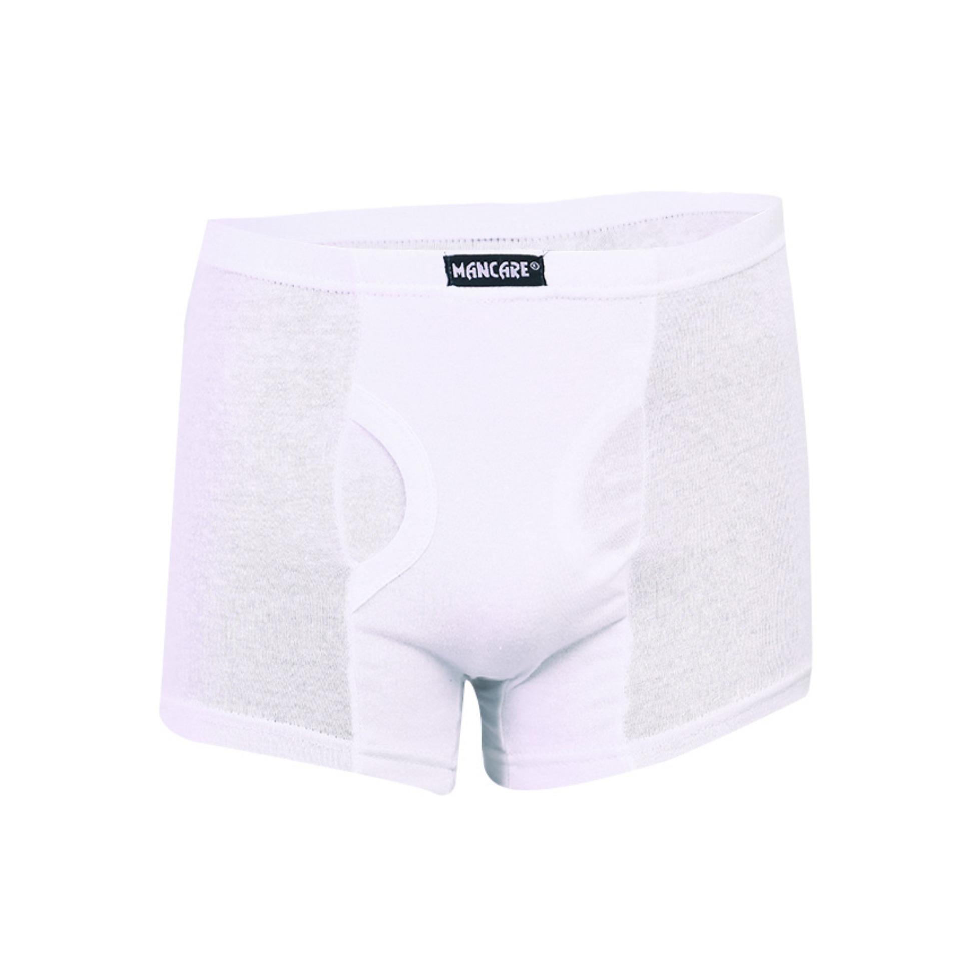 Mancare Pure Cotton Underwear for Men - White