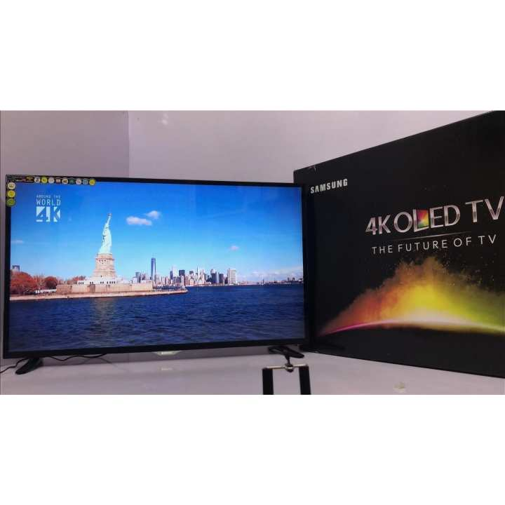 "55"" UHD 4K Led Flat Smart Tv - Black - Model: 55 Q9F QS9000 - with 2 years circuit warranty - with Free Wall-Mount & Free 16 Gb Samsung USB (Included 4k Videos For Test)"