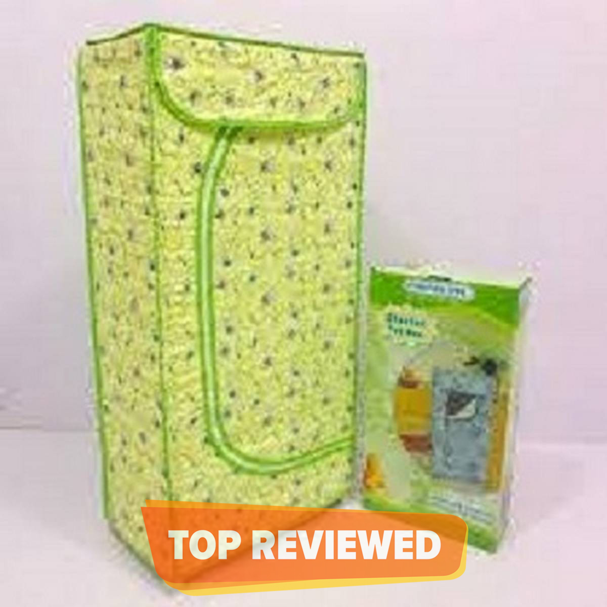 Attractive Folding Cloth Almirah For Kids And Infants Wardrobe 3 Shelves