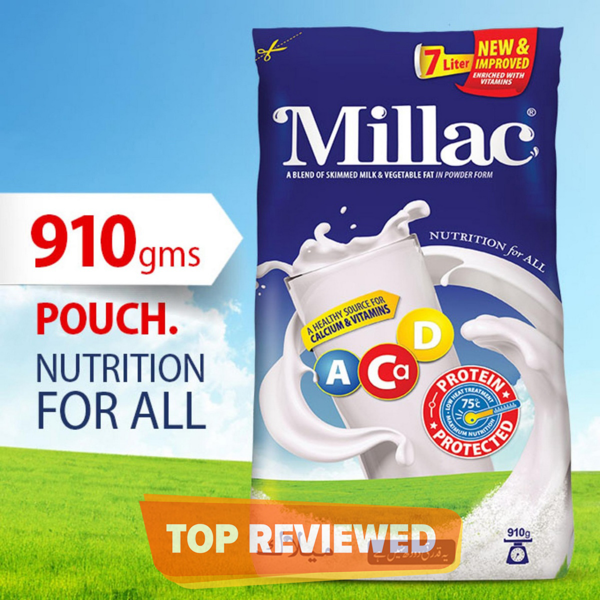 Millac - Nutritional For All - 910gm Pouch
