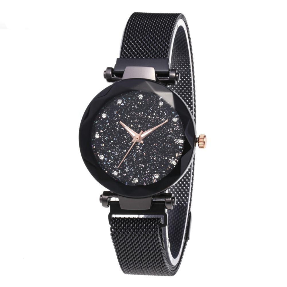 Eastern Stylish Magnetic Clasp Wrist Watch- F038883