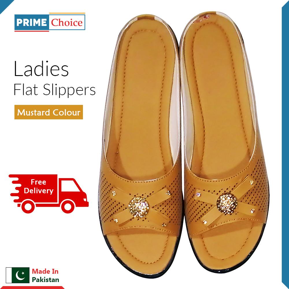 Flat Shoes for Women Ladies Girls Stylish Elegant Design Slippers