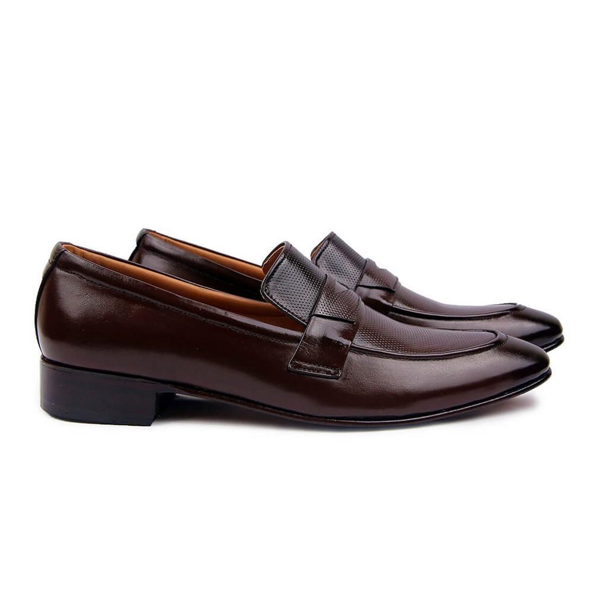 ADRI Premium Brown Handmade Leather Formal / Casual Shoes for Men