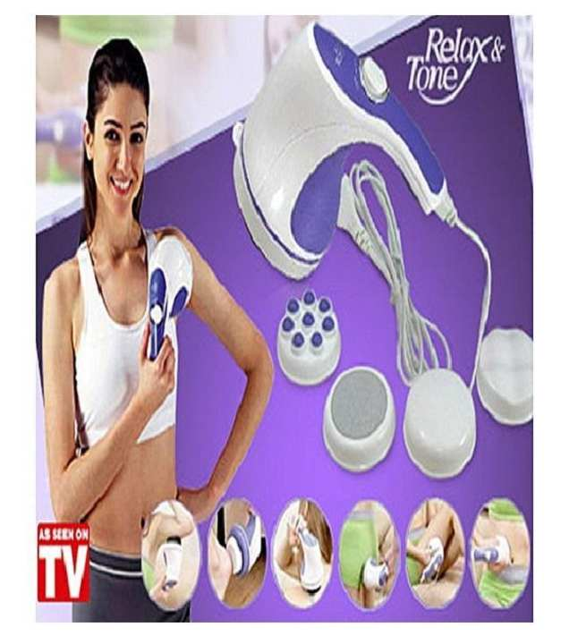 Hand Held Relax And Spin Tone Full Body Massager