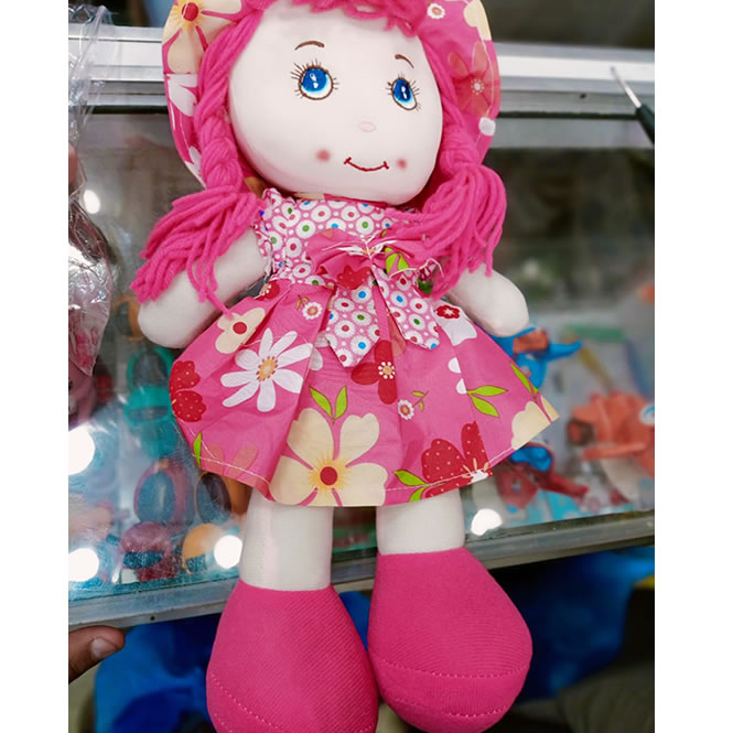Washable Stuffed Toy Doll for Baby Girls