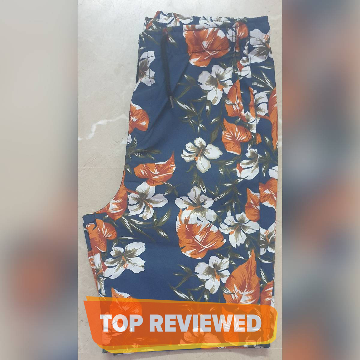 PRINTED STRETCHABLE SUMMER SHORT