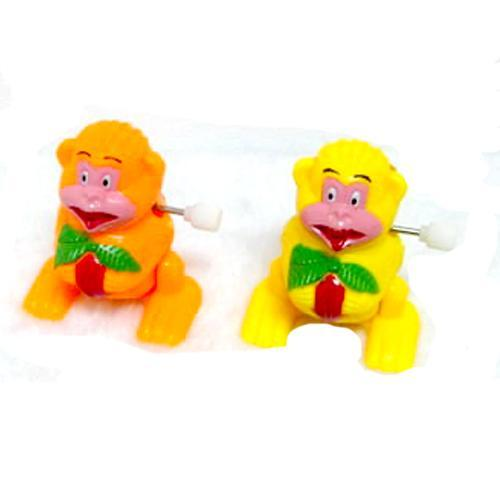 Pack of 1 Classic Wind Up Toy Monkey for Kids