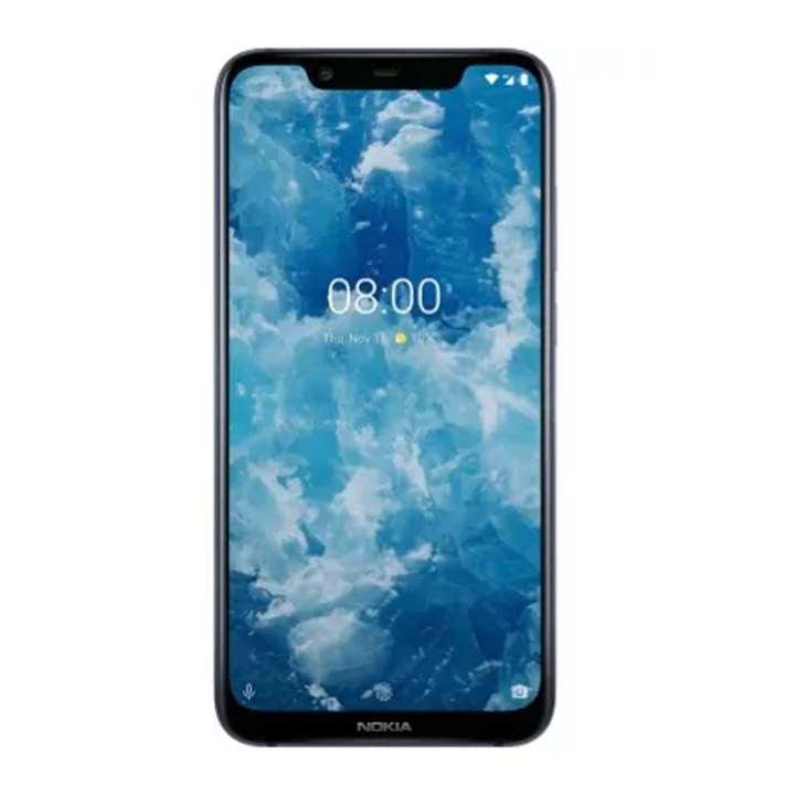 "Nokia 8.1 Mobile Phone - 6.2"" HD Display - 4GB RAM - 64GB ROM - Fingerprint Sensor"