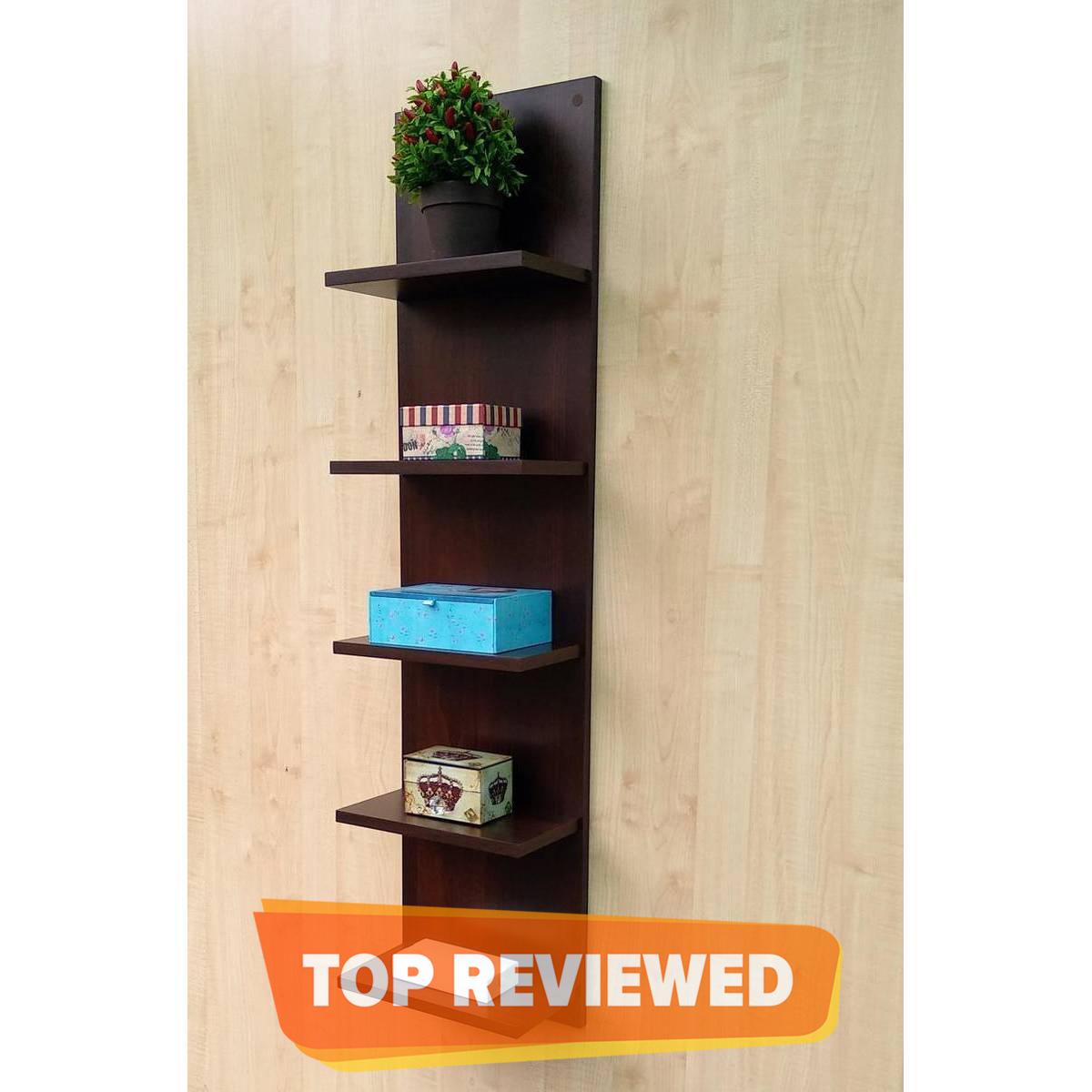 An Adorable Wall Mounted Wooden Shelves - Floating Shelves - Storage Racks