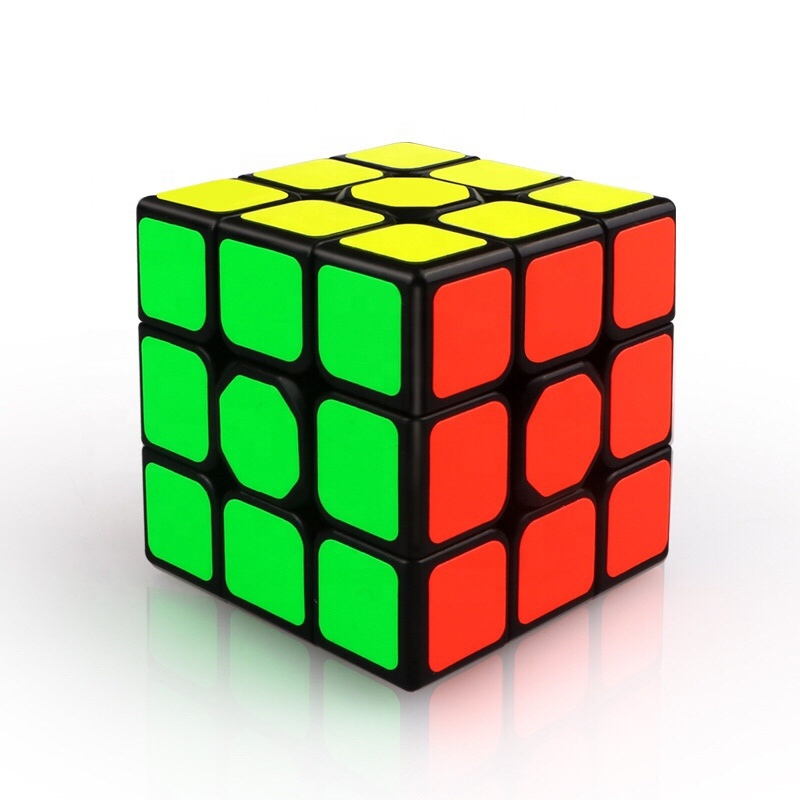 INOVA Rubiks cube 3x3 Magic Speed Cube 3x3 Easy Turning and Smooth Play Durable Puzzle Cube Toy for Kids