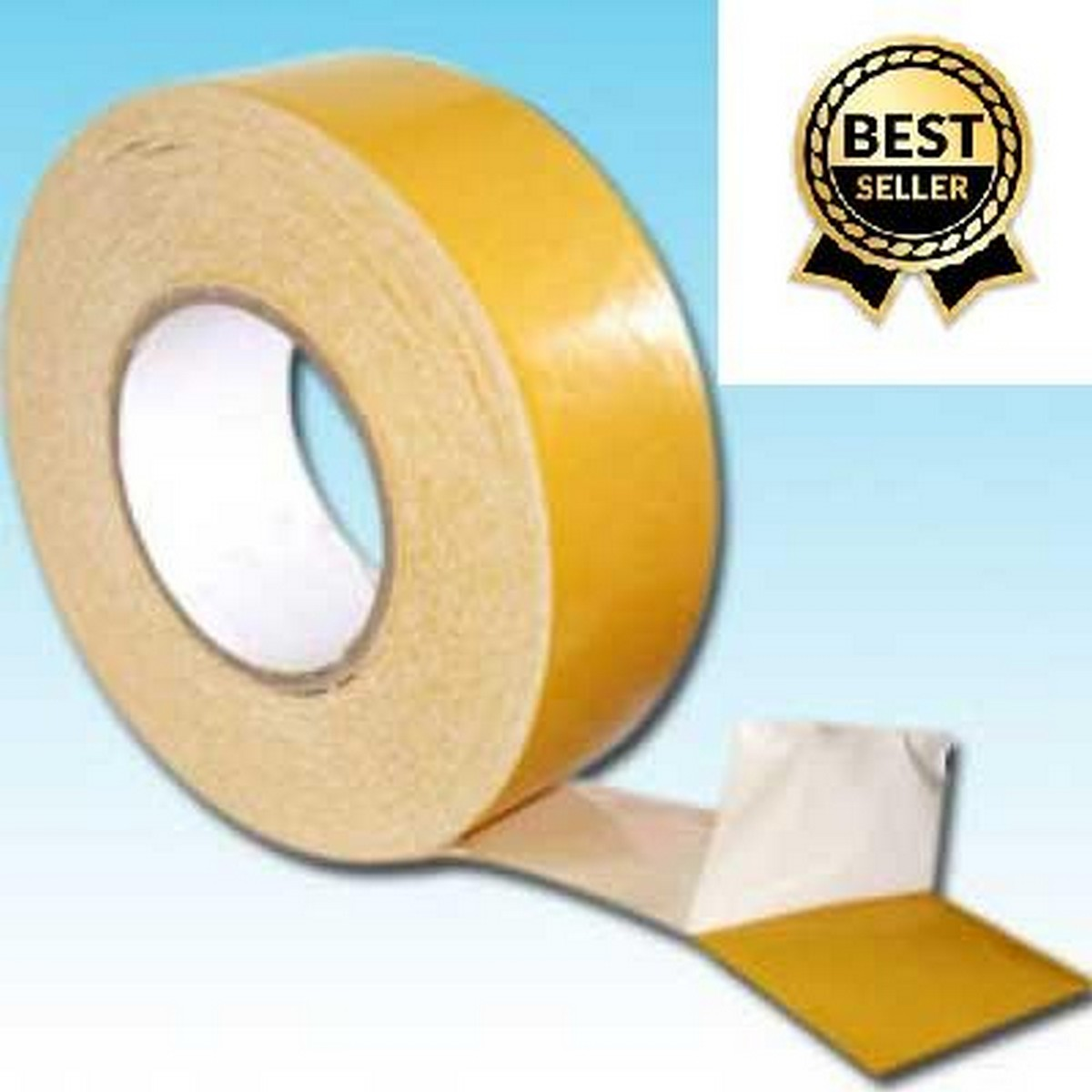Wig Tape Hair Replacement Strong Adhesive Lace Front Wig Hair Support Tape Double-Sided Water-Proof 15 Yards (Long) 1 Inch (Wide)
