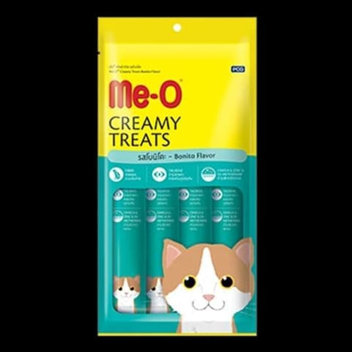 Me O Creamy Cat Treats Bonito Flavour Pack Of 4 Treats Buy Online At Best Prices In Pakistan Daraz Pk