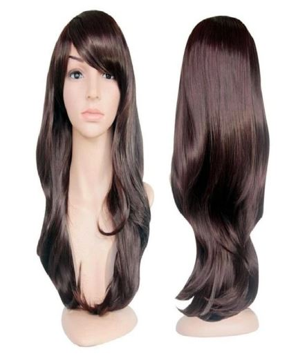 Long Straight Lace Synthetic Wigs Lightweight and Natural