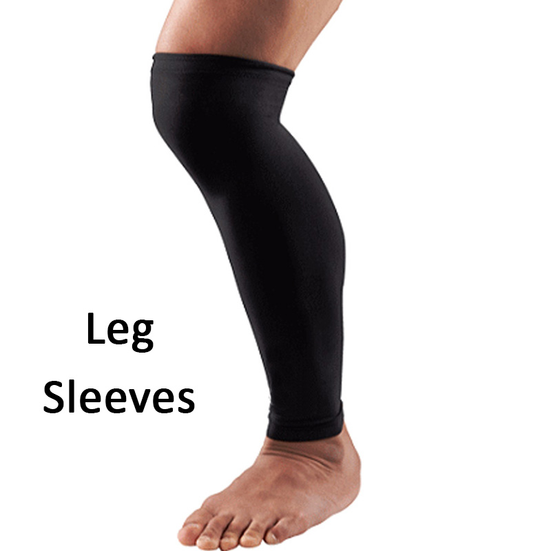 Pair of Calf Sleeves Cover for UV Protection Suitable for Golf Biking Sports and Fitness for Men and Women