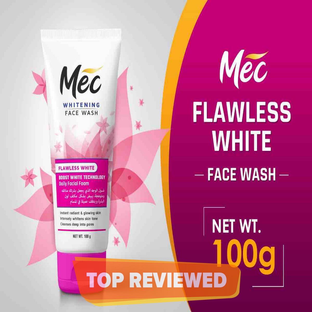 Mec Whitening Flawless White Face Wash