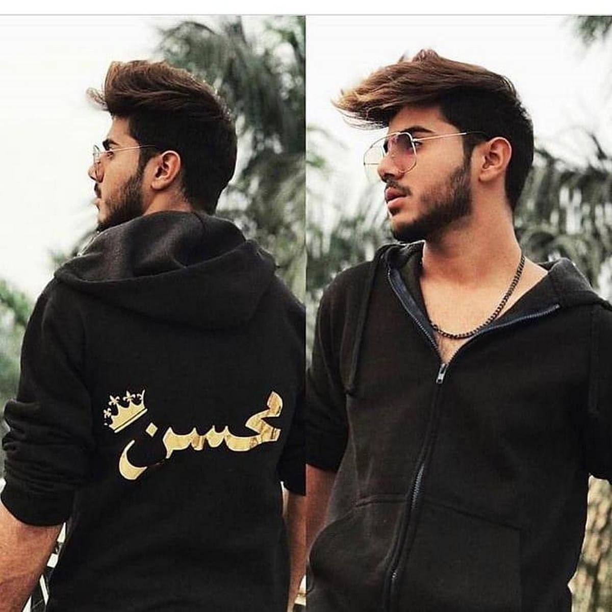 Product details of Customized Hoodie with Name in Golden for Men and Girls