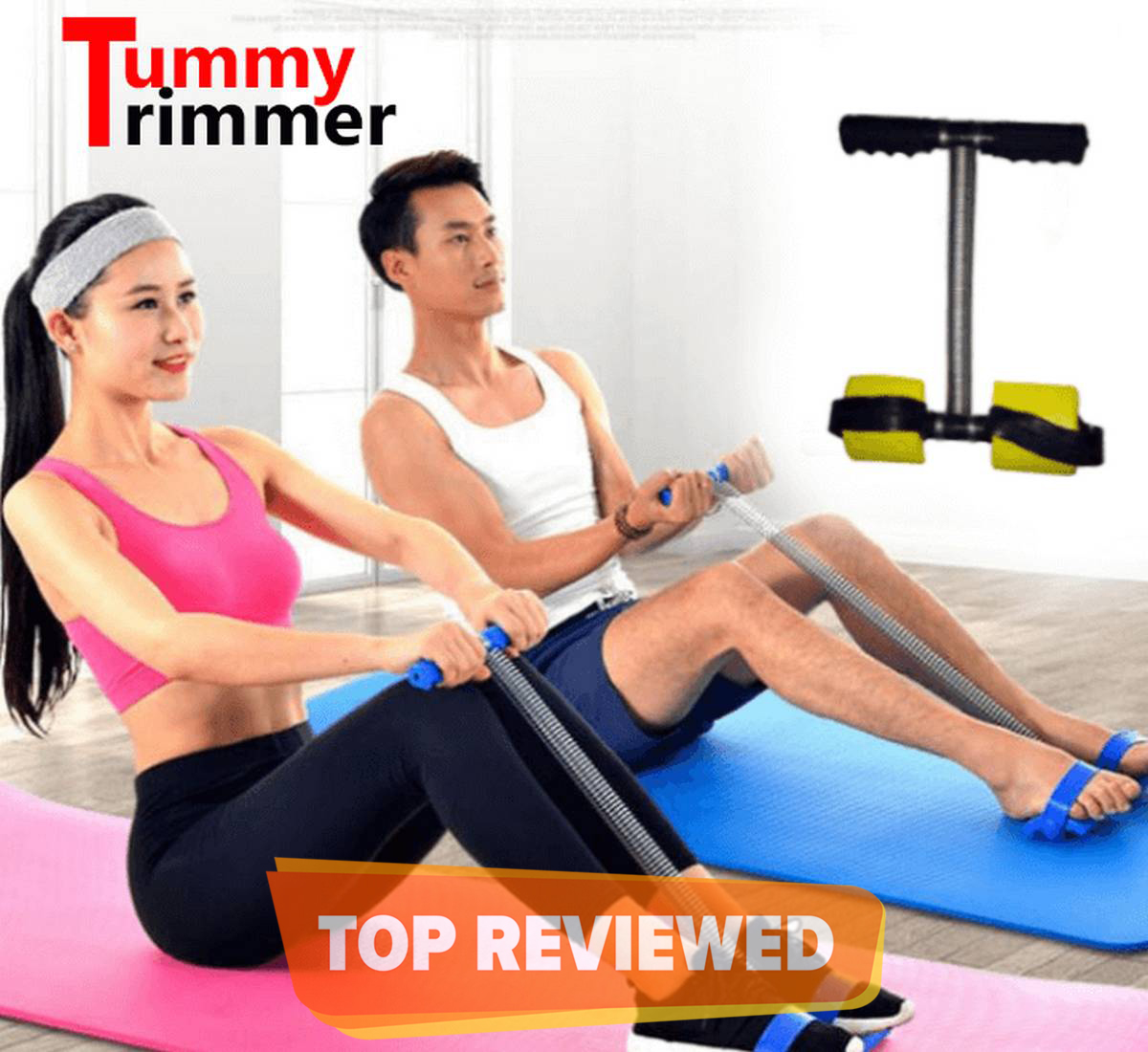 Tummy Trimmer High Quality Single/Double Spring Weight loss machine Belly loosening Machine