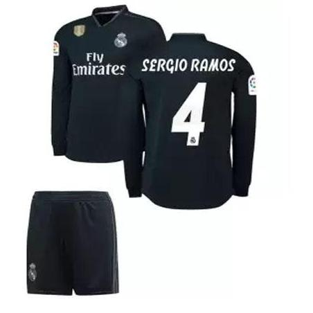 eface776898 Real Madrid Sergio Ramos Away Shirt Kit 2018/19 Full Sleeve