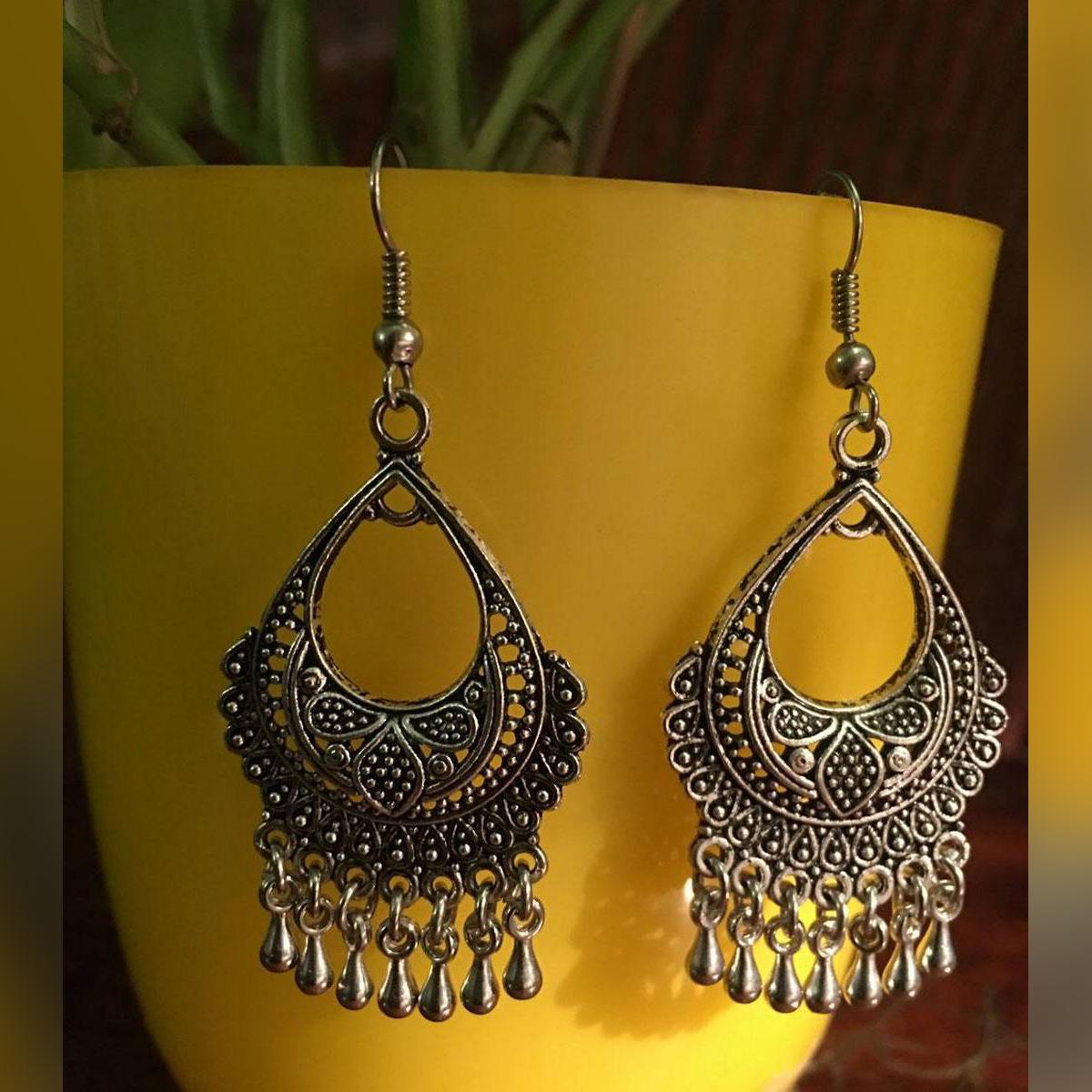Indain antique Jaipuri Earrings For Women - Fashion Infinity