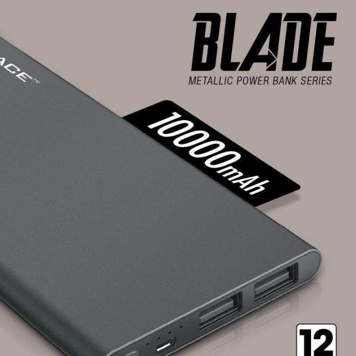 BLADE BD-046 10000 mAh - Black (Metal Finish)