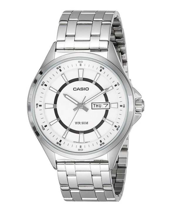 Casio - MTP-E108D-7AVDF - Stainless Steel Watch for Men
