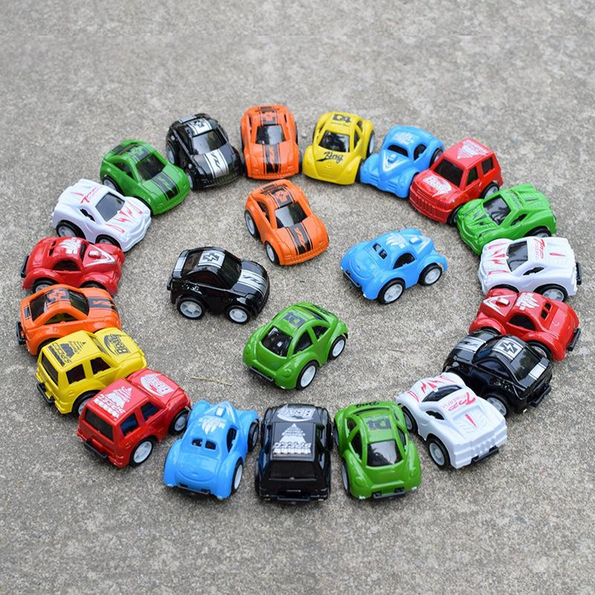 Pull Back Mini Car Set Toy For Kids and Boys Pullback Cars Toys Pack of 6 Pcs