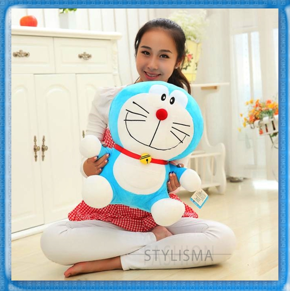 30 to 38cm Hot Anime Doraemon Plush Toys High Quality Toy Stuffed Animal Pillow For Baby Girls Gifts