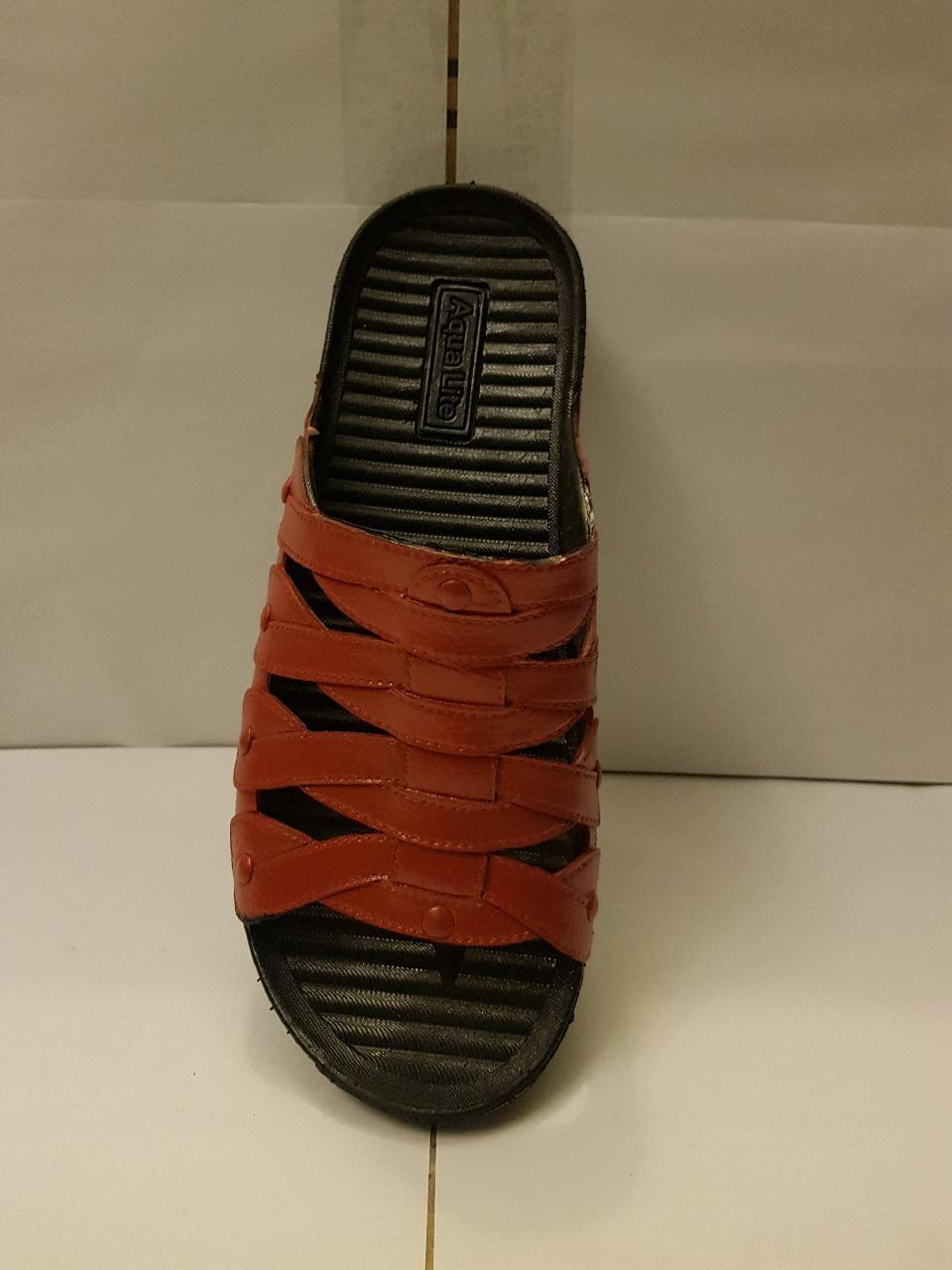Rubber Sandals/Slippers Shoes - Waterproof - Soft And Comfortable - Light Brown Color -A013